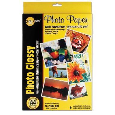 Papier Foto Yellow One A4 190g Mat Op50