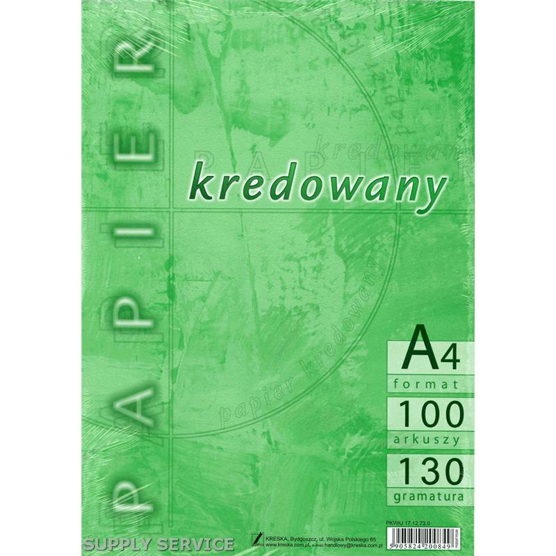 Papier Kredowy Kreska A4 130g